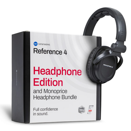 [Sonarworks] Reference 4 Headphone Edition and Monoprice HI-FI DJ Headphone BUNDLE