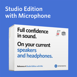 [Sonarworks] Reference 4  Studio Edition with mic (Box)[박스불량품]