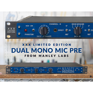 [Manley Labs] DUAL MONO MIC PREAMP 30th ANNIVERSARY LIMITED EDITION [예약판매상품]