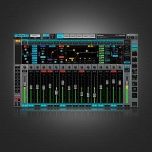 [Waves] eMotion LV1 Live Mixer – 16 Stereo Channels / 전자배송